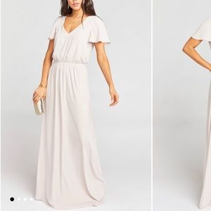ShowMe Your Mumu Michelle Flutter Bridesmaid Dress